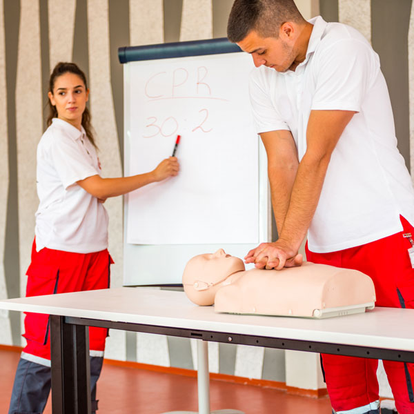 simulation training feedback courses uk